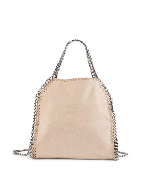 Stella McCartney - Natural Mini Baby Bella Shoulder Bag - Lyst