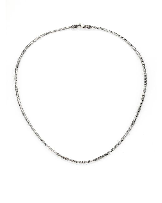 John Hardy | Metallic Classic Chain Sterling Silver Mini Necklace/18 | Lyst