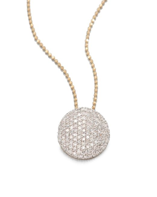 Phillips House - Metallic 14k Gold & Diamond Mini Infinity Pendant Necklace - Lyst