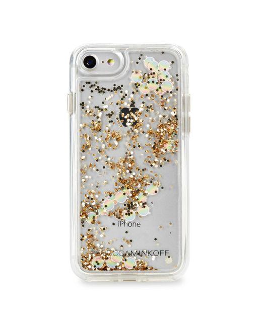 Rebecca Minkoff | Multicolor Mini Holographic Iphone 7 Case | Lyst