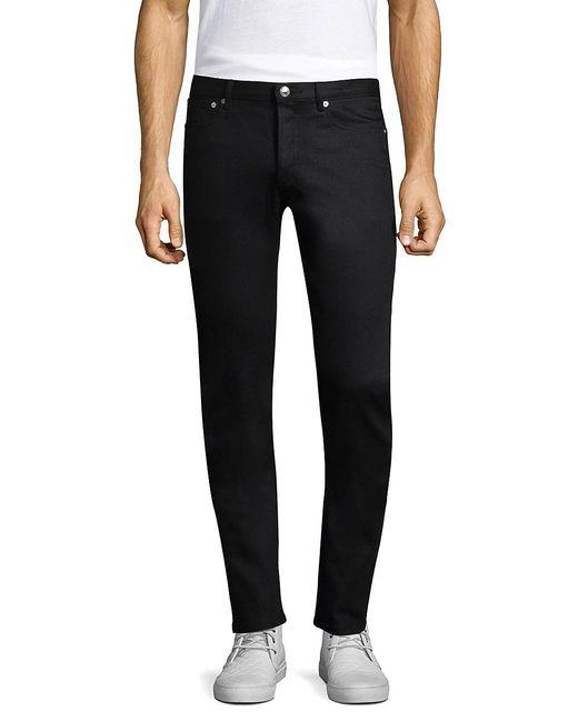 A.P.C. Black Petite New Standard Jeans for men