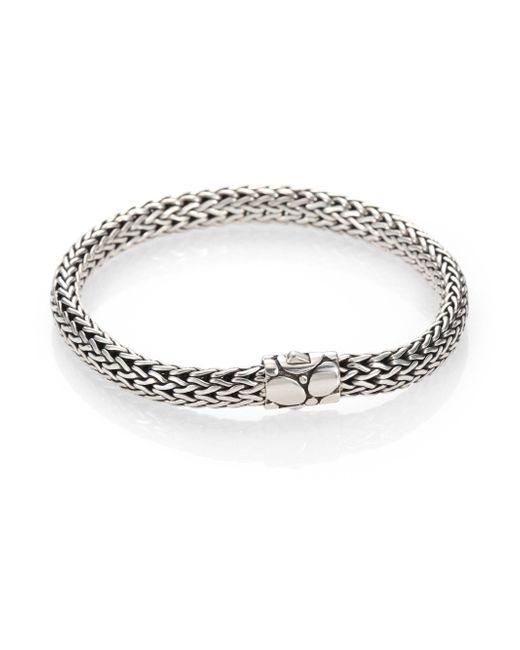 John Hardy | Metallic Kali Sterling Silver Small Chain Bracelet | Lyst