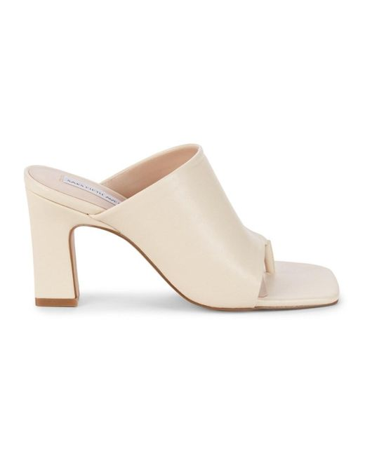 Saks Fifth Avenue Women's Jacky Heeled Sandals - Off White - Size 5.5