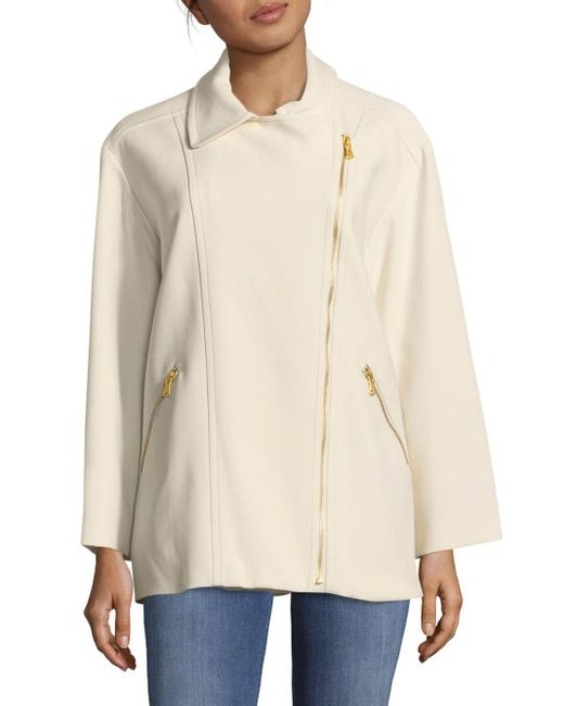 Marc By Marc Jacobs   White Eva Stretchable Jacket   Lyst