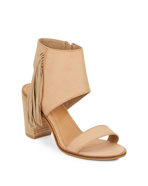 Catherine Malandrino | Natural Yanaisley Fringed Sandals | Lyst