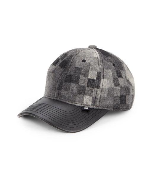 Block Headwear   Black Pixel Block Baseball Cap   Lyst