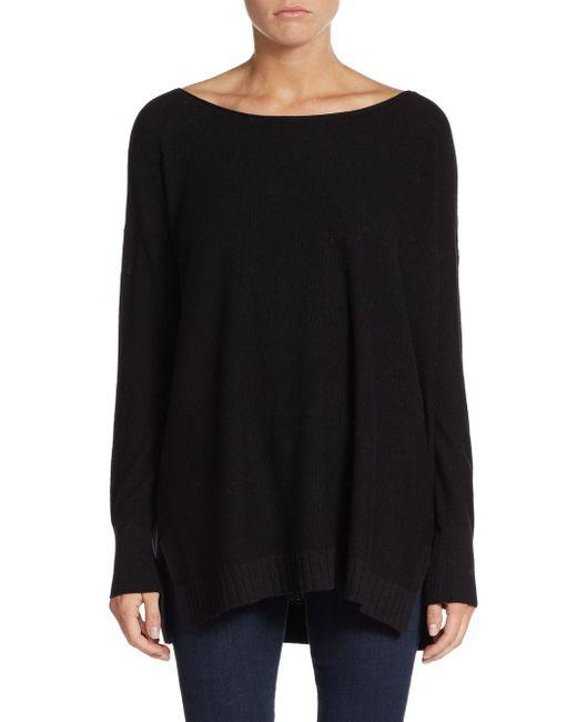 Joie | Black Zephyrine Drop-shoulder Sweater | Lyst
