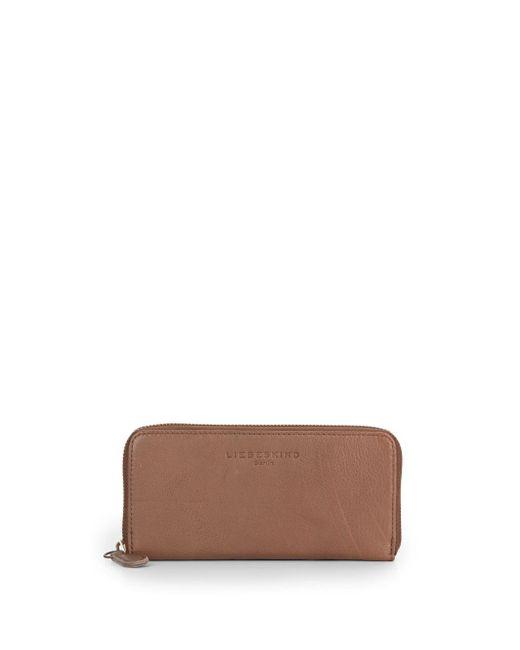 Liebeskind | Brown Sally B Leather Wallet | Lyst