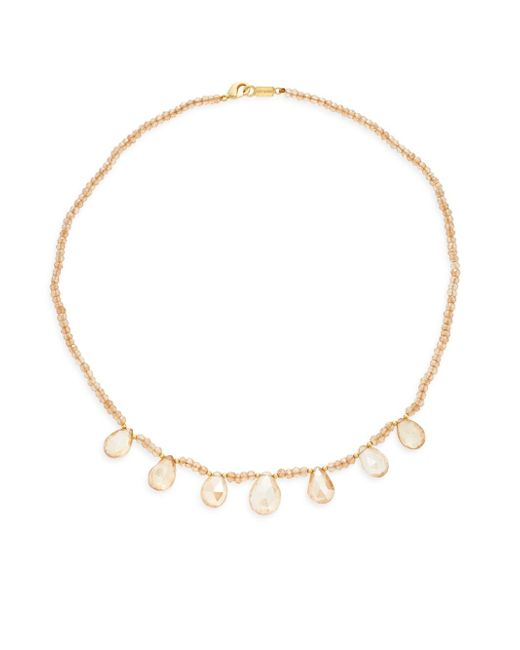 Chan Luu | Multicolor Beaded Crystal Collar Necklace | Lyst