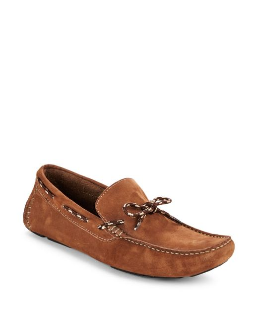 Saks Fifth Avenue | Multicolor Leather Boat Shoes for Men | Lyst