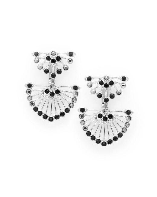 Catherine Malandrino   Metallic Moxie Fan Earrings   Lyst