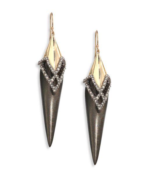 Alexis Bittar | Multicolor Crystal-encrusted Lucite Drop Earrings | Lyst