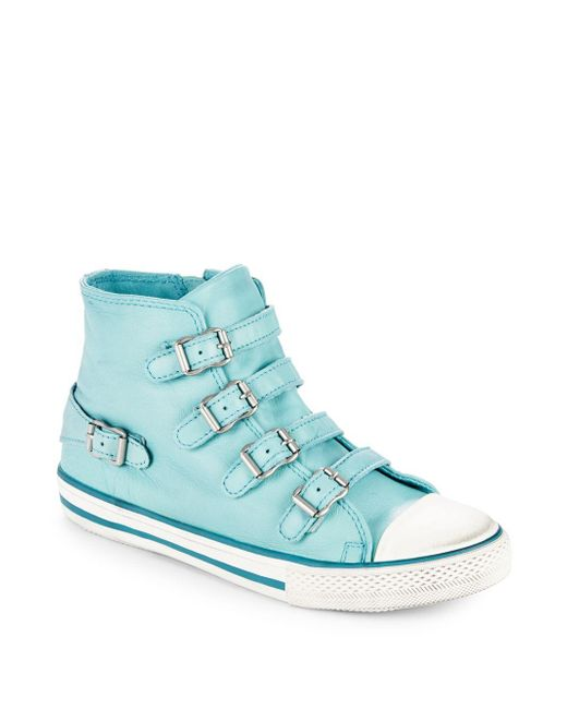 ash fanta high top sneakers in blue lyst. Black Bedroom Furniture Sets. Home Design Ideas