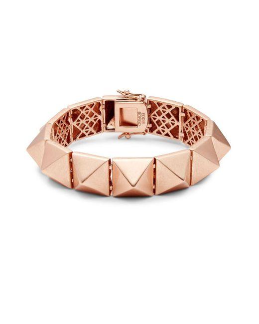 Eddie Borgo | Multicolor Large Pyramid Bracelet | Lyst