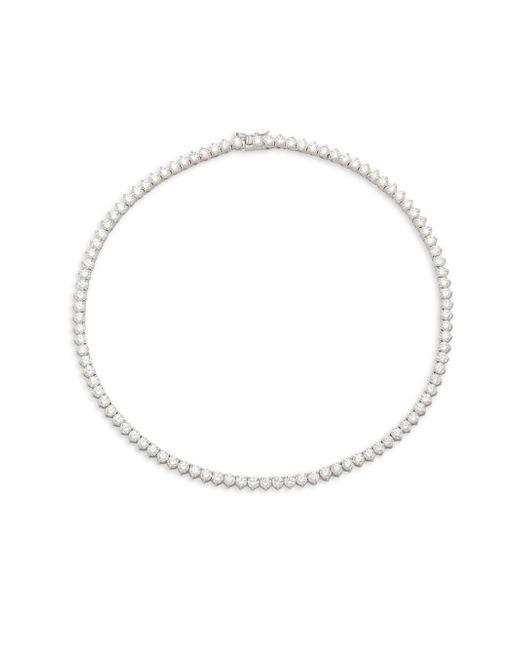 Saks Fifth Avenue | Metallic Cubic Zirconia Necklace | Lyst