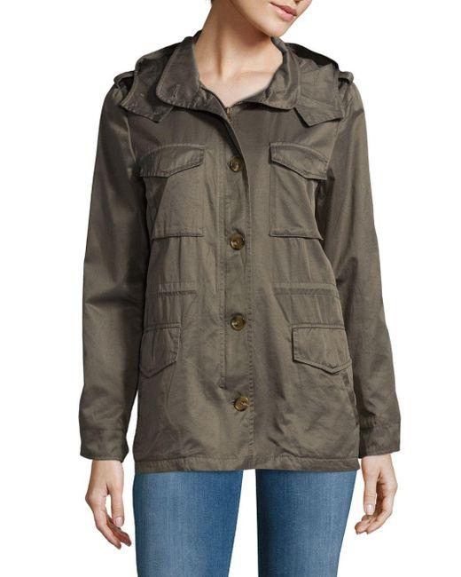 Joie | Multicolor Cotton-blend Utility Jacket | Lyst