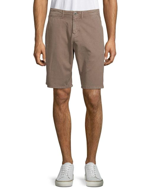 Original Paperbacks - Multicolor Palm Textured Cotton Shorts for Men - Lyst