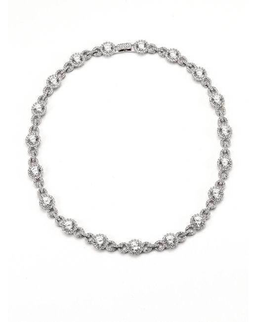 Adriana Orsini | Metallic Faceted Collar Necklace | Lyst