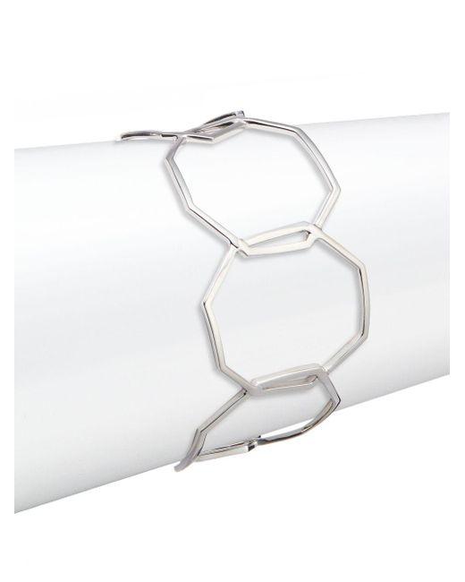 Ron Hami | Metallic Geo Sterling Silver Bracelet | Lyst