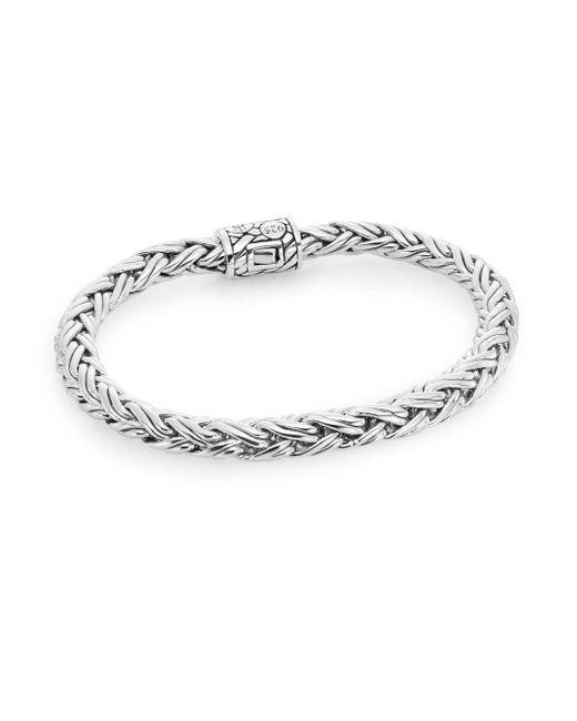 John Hardy   Metallic Sterling Silver Bracelet   Lyst