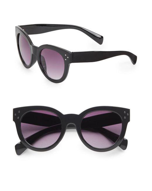 Fantaseyes | Black Langham 50mm Cat's-eye Sunglasses | Lyst