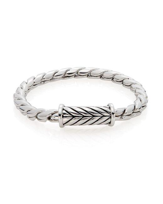 Saks Fifth Avenue - Metallic Herringbone Bracelet - Lyst