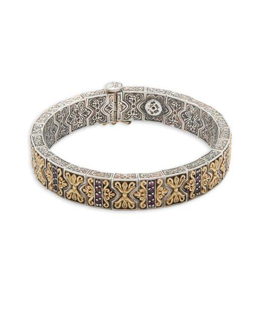 Konstantino - Metallic Artemis 18k Yellow Gold & Sterling Silver Bracelet - Lyst