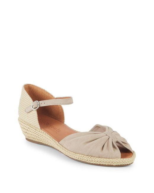 Gentle Souls - Brown By Kenneth Cole Ankle-strap Espadrilles - Lyst
