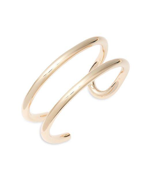 Eddie Borgo | Metallic Padlock Allure Cuff Bracelet | Lyst