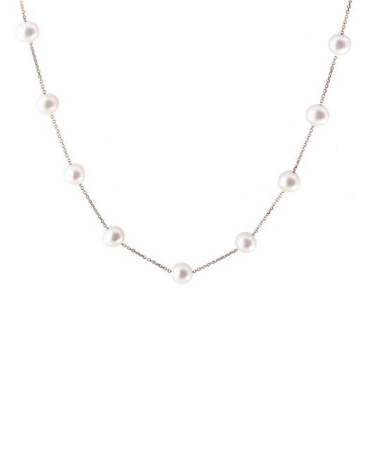 Effy Metallic 14k Rose Gold & 8mm Freshwater Pearl Necklace