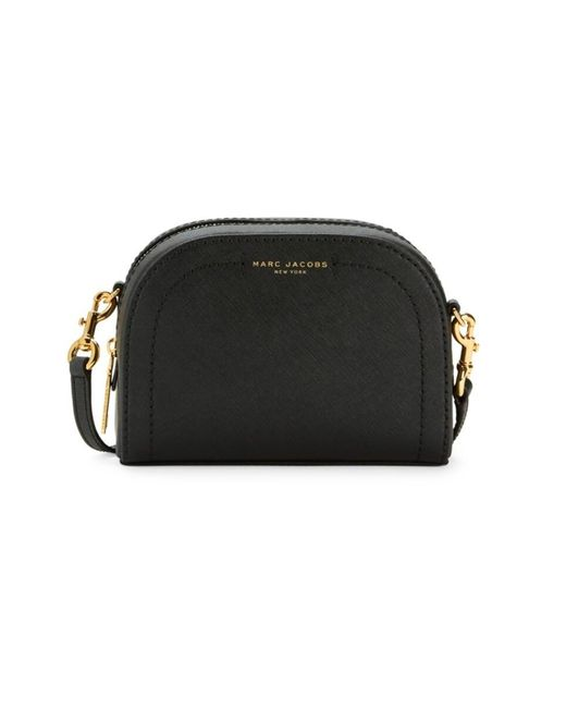 Marc Jacobs Playback Leather Crossbody Bag In Black At Nordstrom Rack