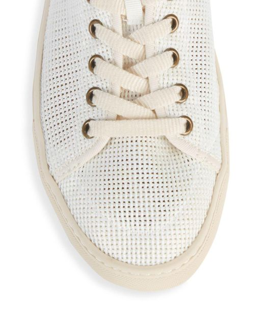 eae98e39396c6 Men's White Mesh Tennis Sneakers