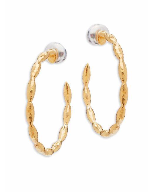 Gurhan   Metallic Wheat Sterling Silver Hoop Earrings/1.17??   Lyst