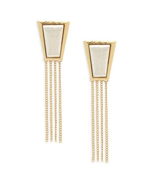 Stephanie Kantis - Metallic Impose Sterling Silver Earrings - Lyst