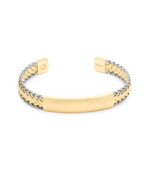 Effy - Metallic Textured Sterling Silver Cuff Bracelet - Lyst