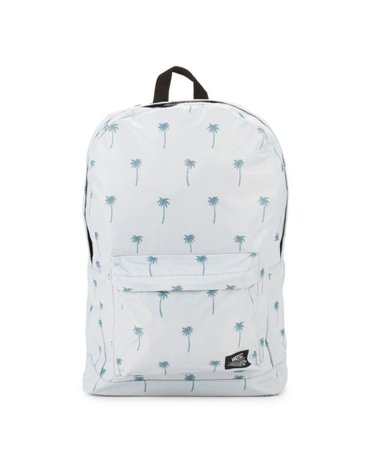 Wesc - Blue Chaz Printed Backpack - Lyst