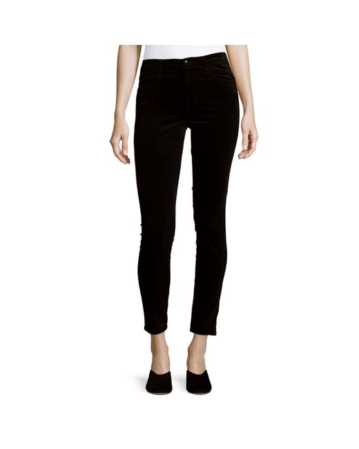 J Brand Blue Maria High-rise Pants