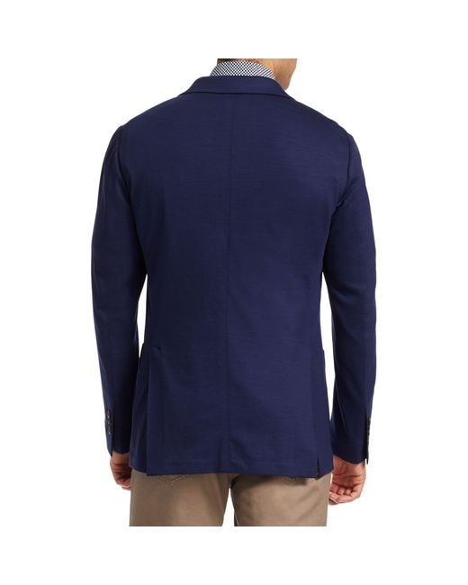 Saks Fifth Avenue Blue Collection Solid Jersey Sportcoat for men
