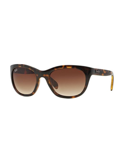 Ray-Ban - Brown Oversized Square Sunglasses - Lyst