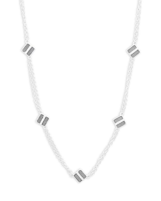 Freida Rothman - Metallic Contemporary Deco Station Necklace - Lyst