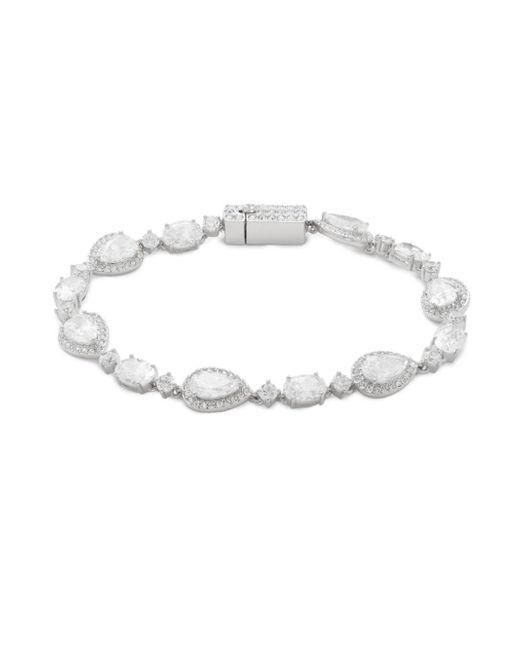 Adriana Orsini | Metallic Crystal Bascupdt Bracelet | Lyst