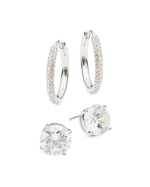 Saks Fifth Avenue Multicolor 14k White Gold & Diamond Pendant Necklace
