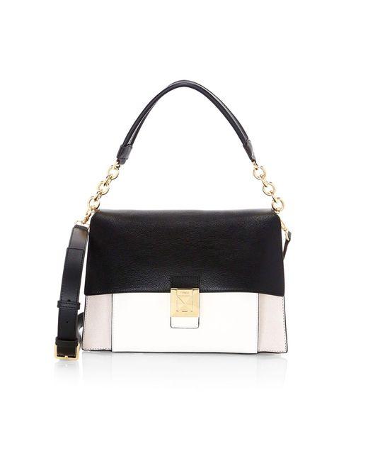 Furla Black Medium Diva Leather Shoulder Bag