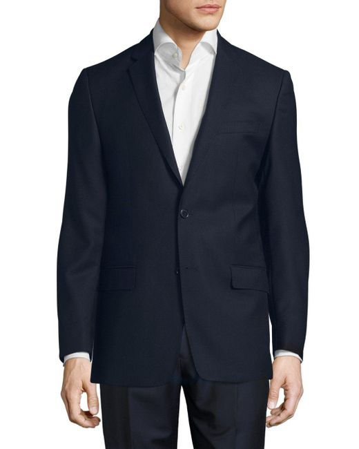 Versace - Blue Cotton Two-button Sportcoat for Men - Lyst