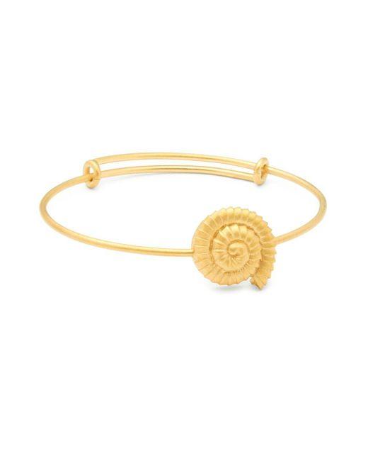 Valentino - Metallic Seashell Bracelet - Lyst