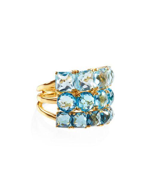 Ippolita - Metallic 18k Rock Candy Cluster Ring - Lyst
