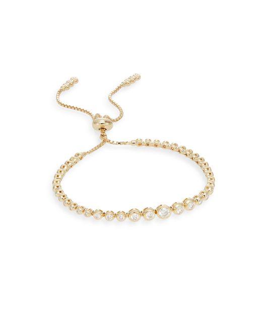 Saks Fifth Avenue Metallic 14k Yellow Gold & Diamond Bracelet