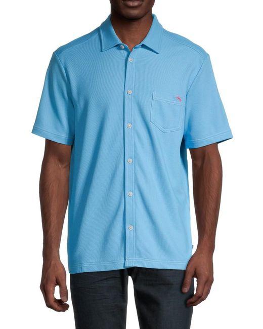 Tommy Bahama Blue Emfielder Camp Shirt for men