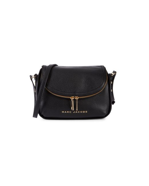 Marc Jacobs Brown Mini The Groove Leather Messenger Bag