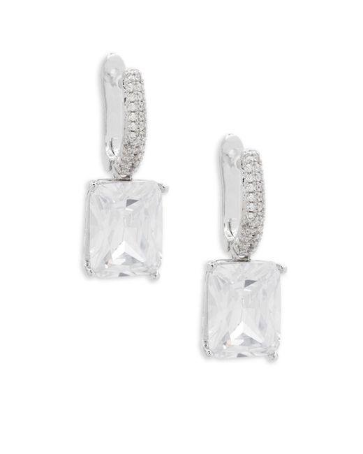 Saks Fifth Avenue - Metallic Crystal Drop Earrings - Lyst
